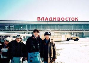 ロシア:ウラジオ with Gちゃん